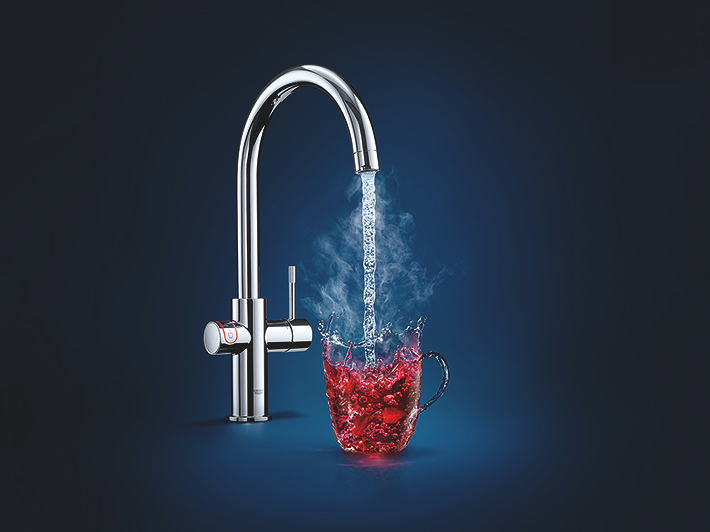 Grohe Trinkwasser, Heiswasser